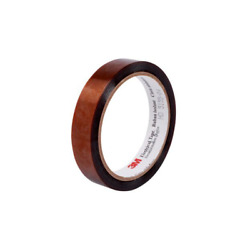 3m Polyimide Film Electrical Tape 92, 12 In X 18 Yd, 3-in Plastic Core
