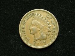 New Inventory Xf 1897 Indian Head Cent Penny W/ Diamonds And Full Liberty 174s