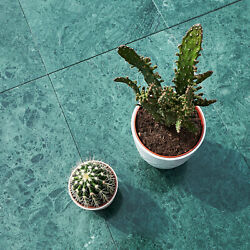 Verde Guatemala Polished Green Marble Wall And Floor Tiles 600x600x20 Mm