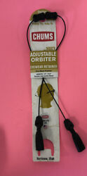 NEW Chums Orbiter Black Light Cable Universal Fit Eyewear Retainer 10