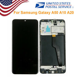 LCD Display Touch Screen Digitizer Replacement For Samsung Galaxy A50 A10 A20 $43.99
