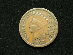 Summer Sale 1887 Indian Head Cent Penny U.s. Collectible Coin 35x