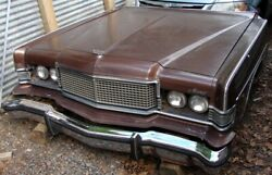 1973 Mercury Marquis Brougham Complete Flip-flop Headlight Front End And Radiator