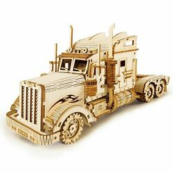 Hands Craft 3d Puzzle Truck Model 140 Scale Heavy Truck Stem Puzzles