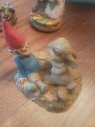 Tom Clark Gnome Tim Wolfe Cotton Tales Double Hand Signed