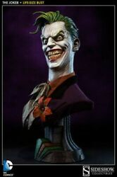 Sideshow Collectibles Dc Comics The Joker 11 Life Size Bust Scale Batman New
