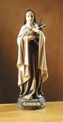 Teresa De Jesus 8.5 Statue St Therese Of The Child Jesus Lisieux Figurine Ns258