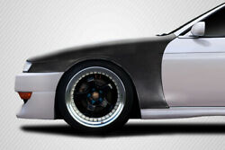 For 1997-1998 Nissan 240sx S14 Carbon Creations Kouki Oem Look Fenders 115986