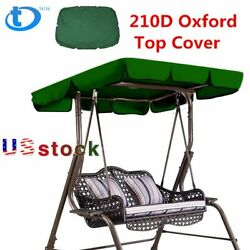 New Sunshade Cover Outdoor Garden Patio Swing Canopy Seat Top Cover Replacement