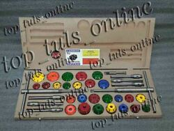 43x Valve Seat Cutter Tool Kit Carbide Tipped For Vintage And Modern Engines
