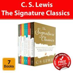 The Complete C. S. Lewis Signature Classics Collection 7 Books Box Set New Pack