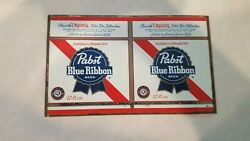 Vintage Pabst Beer Tin Can ,unrolled Steel Flat  Tapa Can Lot Of 120 Pieces