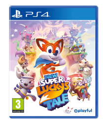 New Super Luckyand039s Tale Ps4 Neuf Sous Blister