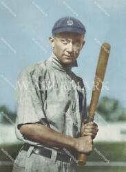 Ef747 Ty Cobb Detroit Tigers Youthful Pose Colorized 11x14 16x20 Photo