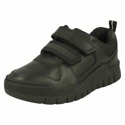 Boys Clarks Smart Bumper Toe School Shoes And039scooter Speedand039