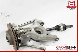 10-13 Porsche Panamera 970 Rear Left Spindle Knucke Drive Axle Shaft Assembly