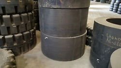 54x8x26 Mitl Brawler Solid Smooth Mounted On 24-bolt Wheel New