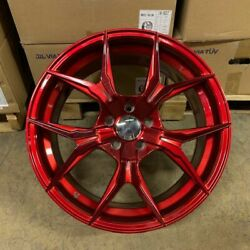 19 Candy Red Rex Style Wheels Rims Fits Bmw 528i 535i 5 Series Awd Only