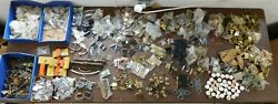 2500+ Pieces Nos 60's And 70's Vintage Kitchen Cabinet Hardware Hinge Pulls Misc