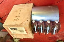 Dresser Stainless Steel / Rubber Pipe Repair Clamp Lot Of 22 Couplers