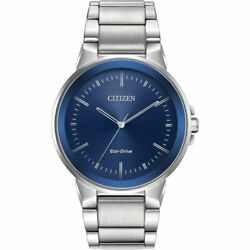 Citizen Gentand039s Eco Drive Watch Bj6510-51l Rrp Andpound179.00