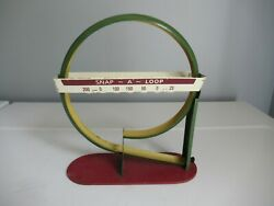 Antique Arcade Action Snap A Loop Marble Shooter Game