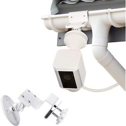 Outdoor Gutter Mount For Ring Spotlight Cam Battery And Wired Universal Adapter