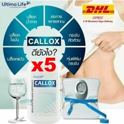 5 X Callox Rapid Weight Loss Slimming Diet Work Fast 30 Capsules Dhl Express