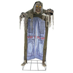 Halloween Looming Ghoul Haunted House Entrance Walkthrough 10ft Prop Archway