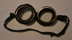 Vintage Safety Glasses Motorcycle Goggles Sunglasses Steampunk Old Spectacles