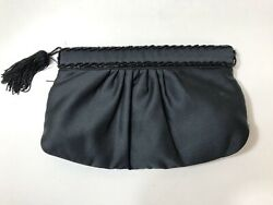 black clutch evening bag $8.00