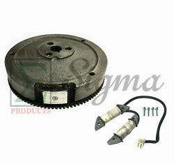 Flywheel And Charging Coil For Headlight On Predator 420cc 13hp Engine 69736 60349