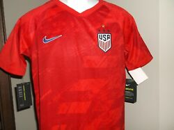 Nike Usa Soccer Jersey World Cup Youth Xl 18-20 Nwt Free Ship