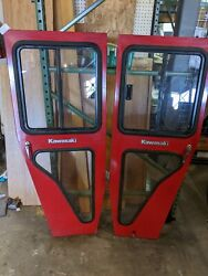 1988 Kawasaki Mule 1000 Curtis Cab Right Passengers Side Hard Door With Glass