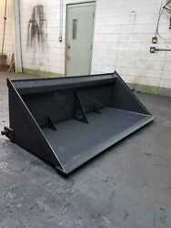 New 60 Inch Skid Steer Mini Chip Bucket/tar And Chip/chip Seal/attachment/bobca