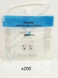 200 First Water Aquabag-1206 Drinking Emergency Water Container 1.6 Gal