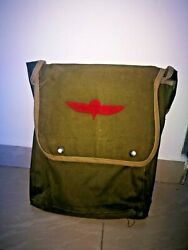 Vintage Idf Israel Army Paratrooper Commander Map Bag Case With Insignia