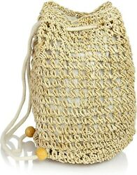 New Straw Backpack Womens Festival Bag Accessory US Seller $12.99