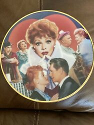 Plate Collectible Lucille Ball Commemorative Plate Retired