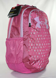 New Under Armour Scrimmage 2.0 Laptop Backpack Pace Pink $19.99