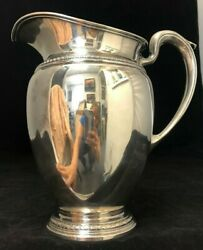 Sterling International 887 Ice Water Pitcher 9 1/2