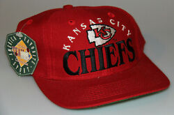 Vintage Kansas City Chiefs The Game Classic Team Snapback Hat Cap Deadstock New