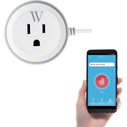 Sump Pump Smart Outlet With High Water Level Sensor Wifi Alarm App Plug And Play