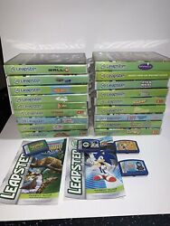Lot Of 22 Leapfrog Leapster Games Disney Cars Toy Story 3 Sonic Thomas Nemo Up