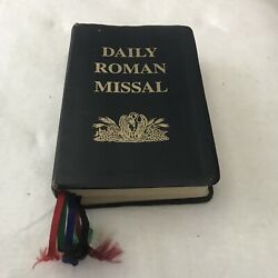 Daily Roman Missal Bonded Black Leather 1st American Edition By James Socias