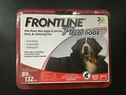 Frontline Plus Red for X Large Dogs 89 to 132 lbs 3 Month Supply #7308 $25.99