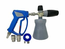 Mtm Hydro Ultimate Foam Cannon And Spray Gun Kit With Stainless Steel Fitting...