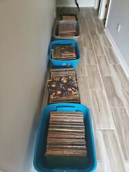 LOT OF 700+ RECORDS (ROCKBEATLESSTONESKISSCOOPER)