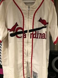 1942 Mitchell And Ness Enos Slaughter St. Louis Cardinals Jersey Size Xxl