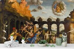 3d Minerva Hunting Vices Self-adhesive Removeable Wallpaper Wall Mural Sticker 6